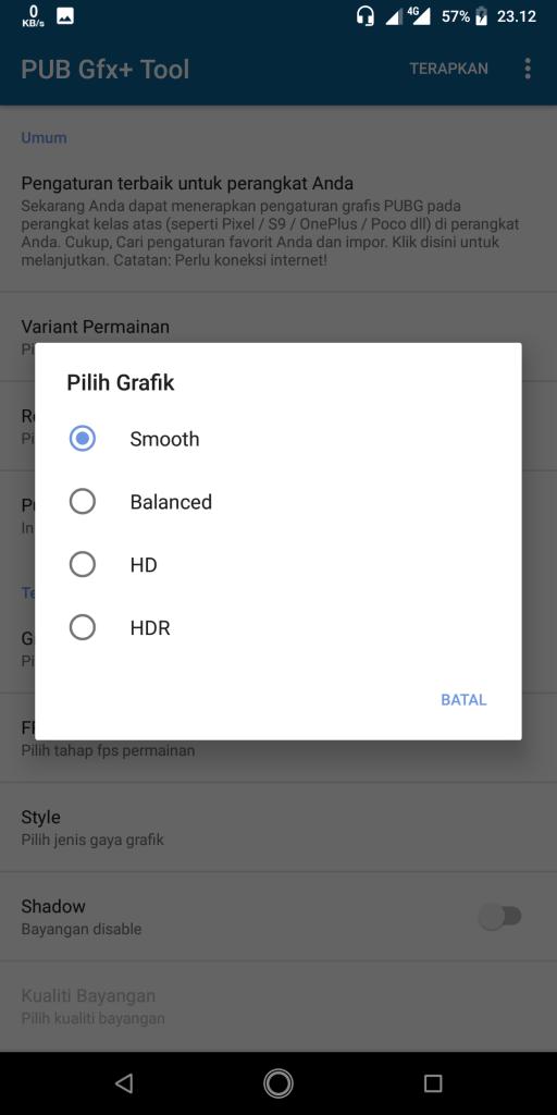 grafik pubg mobile