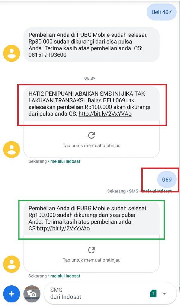 Cara Top Up PUBG Mobile Murah via Pulsa