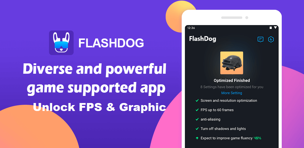 FlashDog Aplikasi Unlock FPS Pubg Mobile