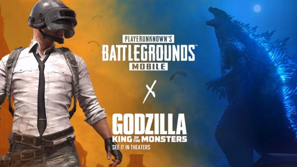 Hadiah Event Pubg Mobile X Godzilla