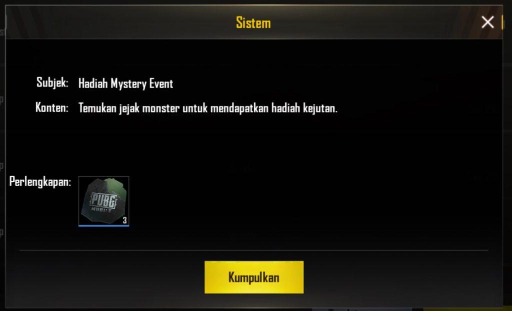 Dapatkan Hadiah Kupon Crate Event Pubg Mobile X Godzilla