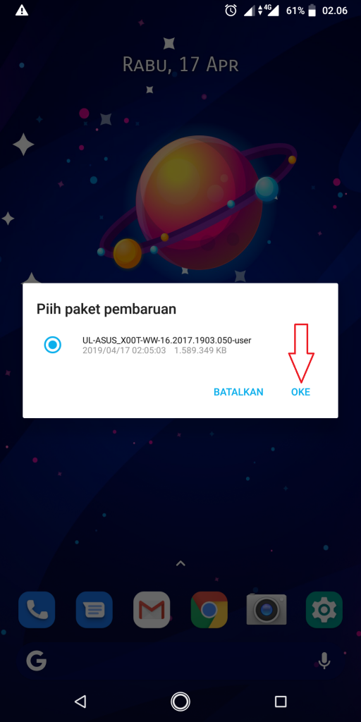Cara Update Android 9 Pie Asus Zenfone Max Pro M1