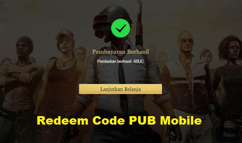 Ambil Kode Redeem PUBG Mobile Gratis