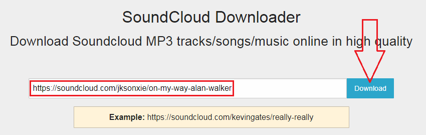 Download Mp3 Soundcloud di sclouddownloader.com