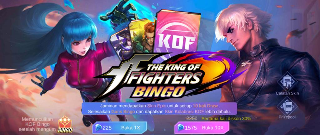Skin Gratis Mobile Legends di Event KOF