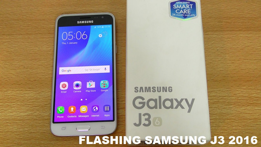 Cara Flash Samsung Galaxy J3 2016