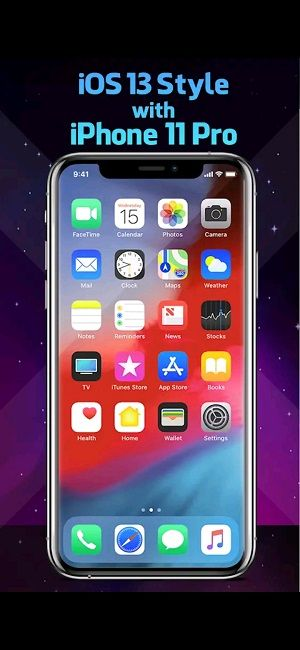 Tampilan iOS 13 dan 11 pro
