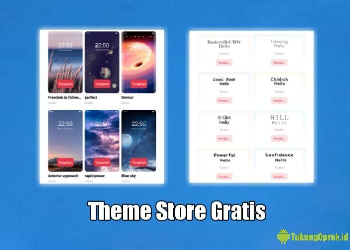 Cara Merubah Theme Store OPPO Berbayar Jadi Gratis